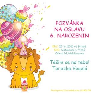 pozvánka k narozeninám šablona Pozvánka na oslavu narozenin   šablony zdarma   Reklamní agentura  pozvánka k narozeninám šablona
